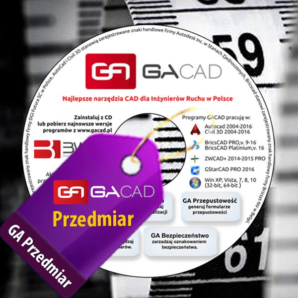 GA Przedmiar – BricsCAD