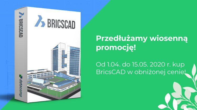 Promocja wiosenna na BricsCAD - przedłużona!