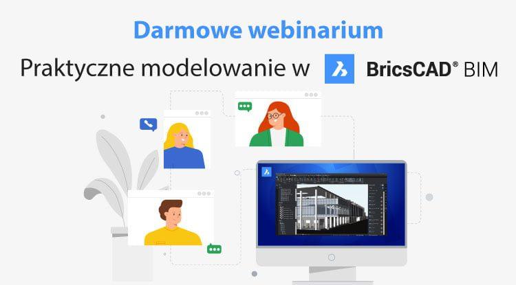 BricsCAD BIM webinarium praktyczne modelowanie